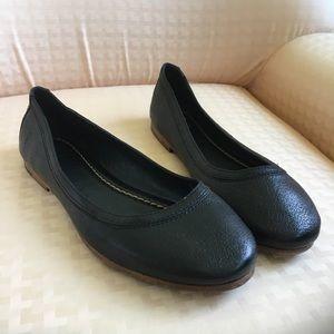 "Frye ""Carson"" Leather Ballet Flats"